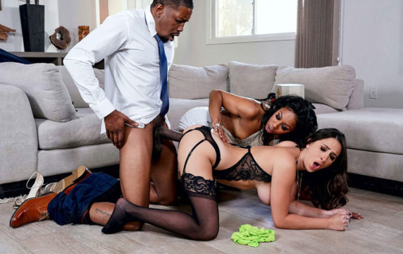 Misty Stone, Ashley Adams Our Cute Little Plaything 3 RealWifeStories